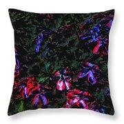 Flowerstudy9-21-09 Throw Pillow