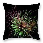 Flowerworks #11 Throw Pillow