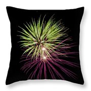 Flowerworks #14 Throw Pillow