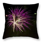 Flowerworks #15 Throw Pillow
