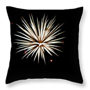 Flowerworks #16 Throw Pillow