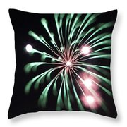 Flowerworks #20 Throw Pillow