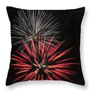 Flowerworks #3 Throw Pillow