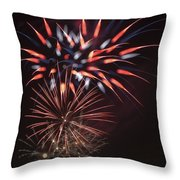 Flowerworks #5 Throw Pillow