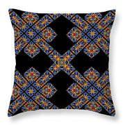 Flowing Abstact Throw Pillow