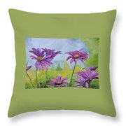 Flowing Florence Throw Pillow