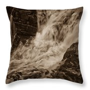 Flowing Force Throw Pillow