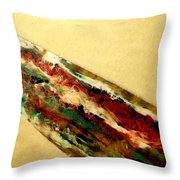 Flowing Heat Throw Pillow