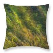 Flowing Luminescence Throw Pillow