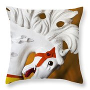 Flowing Mane 1 Throw Pillow