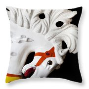 Flowing Mane 2 Throw Pillow