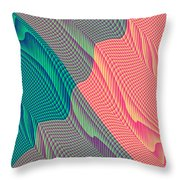 Flowing Mysteries Throw Pillow