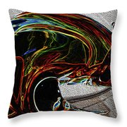 Flow Patterns 3 Throw Pillow