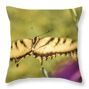 Flowing.... Throw Pillow