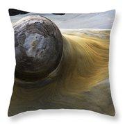 Flowing Rock 1 Throw Pillow