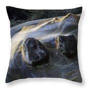 Flowing Rock 2 Throw Pillow