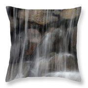 Flowing Veil Throw Pillow