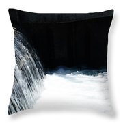 Flowing Water Of Life Throw Pillow