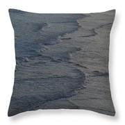 Flowing Waves  Throw Pillow