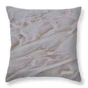 Flows Throw Pillow