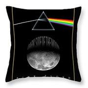 Floyd The Darkside Throw Pillow