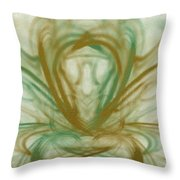 Fluid Art Throw Pillow