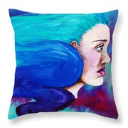 Fluid Delusion Throw Pillow