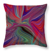 Fluid Motion 6 Throw Pillow