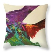 Fluid#1.2 Throw Pillow