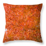 Flustered Forrest Throw Pillow