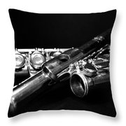 Flute Series I Throw Pillow