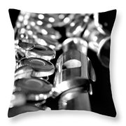 Flute Series II Throw Pillow