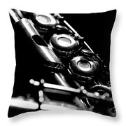 Flute Series IIi Throw Pillow