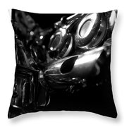 Flute Series Iv Throw Pillow