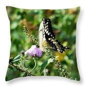 Flutter By 102110 Throw Pillow