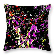 Flutter Throw Pillow by Eikoni Images