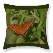 Fluttering By Throw Pillow