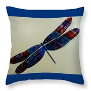 Fly Away Dfly Throw Pillow