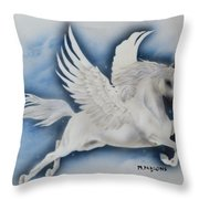 Fly Baby Fly Throw Pillow