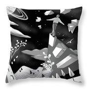 Fly High Throw Pillow