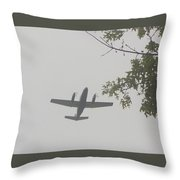 Fly Home Throw Pillow