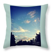 Fly Like A Bird To The Lord Throw Pillow