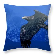 Fly Wild Fly Free Throw Pillow