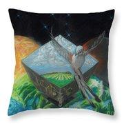 Flycatcher Throw Pillow