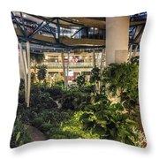 Flyer Atrium Throw Pillow