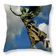 Flying Angel Throw Pillow