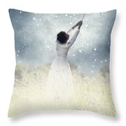 Flying Away Throw Pillow