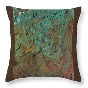 Flying Bats And Birds Throw Pillow