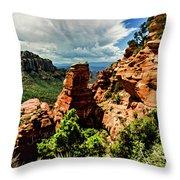 Flying Buttress 04-004 Throw Pillow