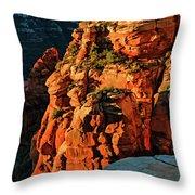 Flying Buttress 06-034 Throw Pillow